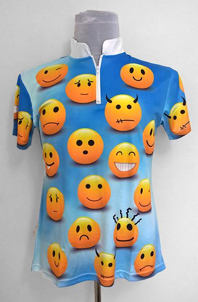 Custom Dye Sublimated Bowling Jersey